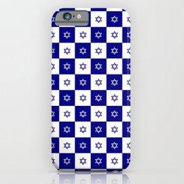 Star of David 46- Jerusalem -יְרוּשָׁלַיִם,israel,hebrew,judaism,jew,david,magen david iPhone Case