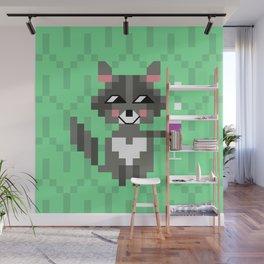 racoon Wall Mural