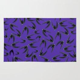 Totem swift (GREFA) Ultraviolet Rug