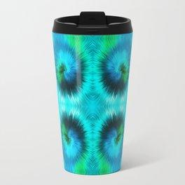 209 - Abstract spikey spheres design Travel Mug