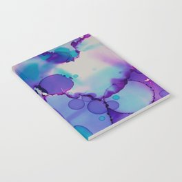 Purple and blue Notebook