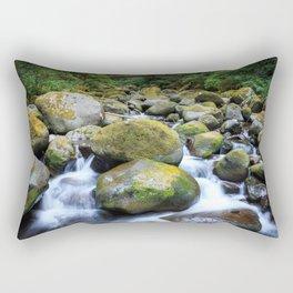 Oneonta Creek Cascades Rectangular Pillow
