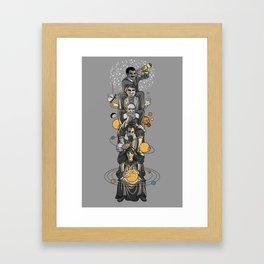 Ascending Astronomy Framed Art Print
