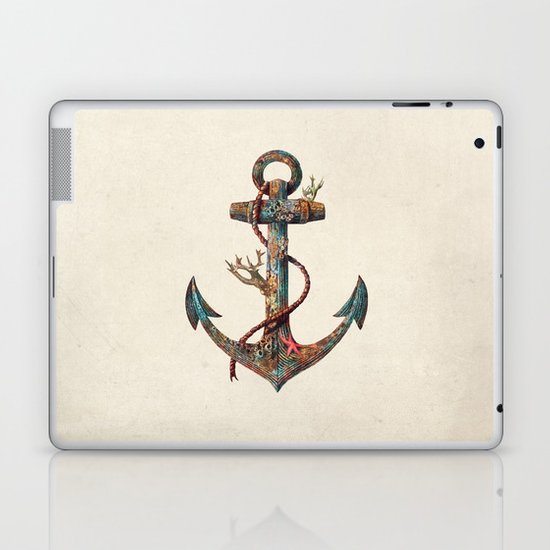 Lost at Sea - colour option Laptop & iPad Skin