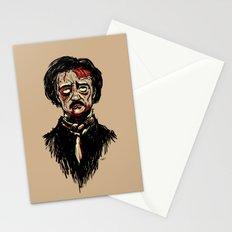 Edgar Allan Poe Zombie Stationery Cards