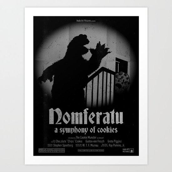 Nomferatu: a symphony of cookies Art Print