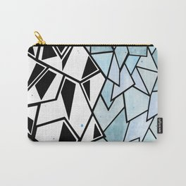 Abstract Geometry Carry-All Pouch