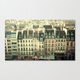 Paris - the Marais Canvas Print