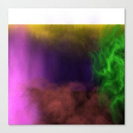 smoked Canvas Print