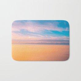 Romantic sky Bath Mat