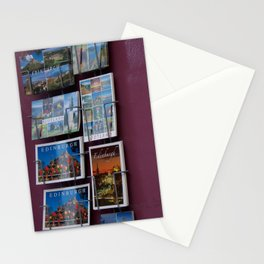 Edinburgh postcards and wall corner grocer Royal Mile Stationery Cards