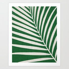 Minimalist Palm Leaf Art Print