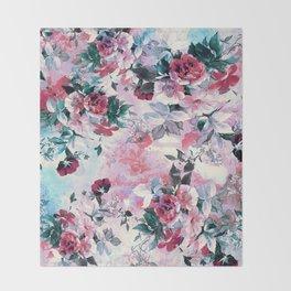 Beautiful Roses Throw Blanket
