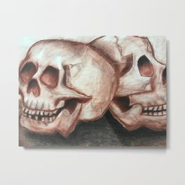 Still of the Dead Metal Print