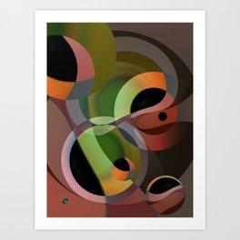 Warm Wind Waning Art Print