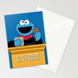 Stay Hungry. Stay Foolish. Stationery Cards