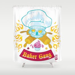 Baker Gang Shower Curtain