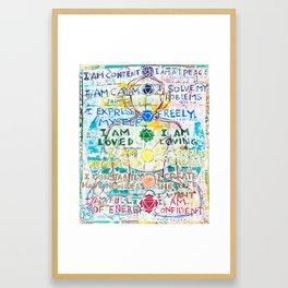 Chakra Primer Framed Art Print