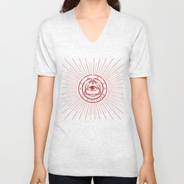 Dare to Discover - All Seeing Eye Unisex V-Neck