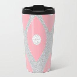 Eye Pattern Pink Travel Mug