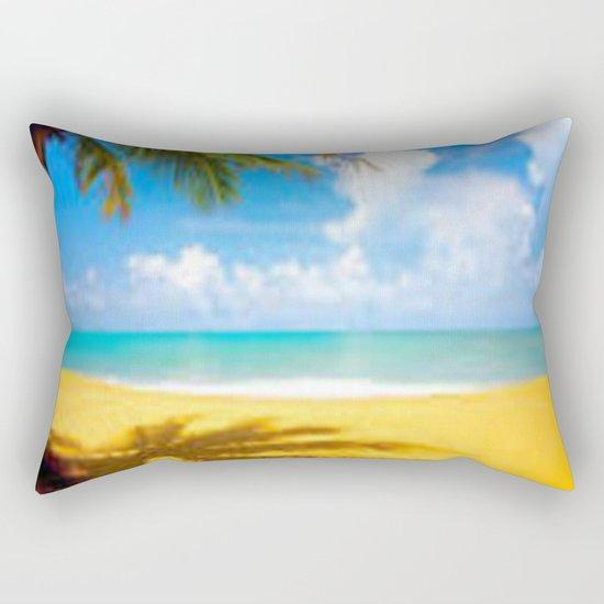 kill the beach Rectangular Pillow