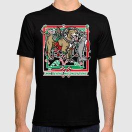 Swim Beyond Misconceptions - Happy Holidays! T-shirt