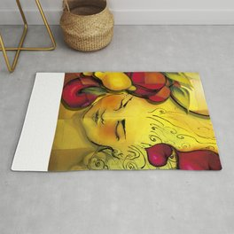 """""""The first sun, the first kiss"""" Rug"""