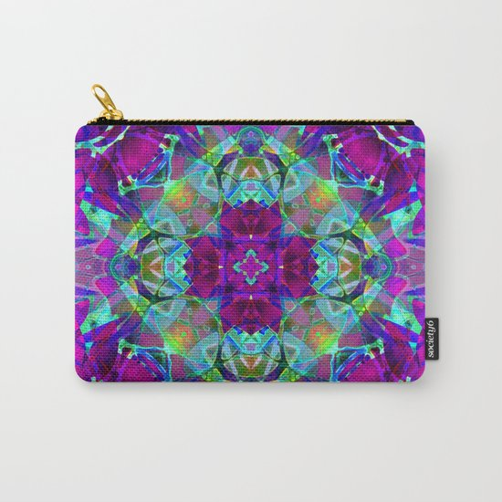 kaleidoscope Crystal Abstract G16 Carry-All Pouch