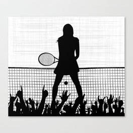 Tennis Ace Canvas Print