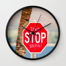 Expression Wall Clock