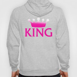 King, Cute and Perfect Valentine's day Gift Shirt for Boyfriend,  Husband, Sweetheart, Couple Hoody