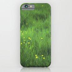 yellow flowers Slim Case iPhone 6s