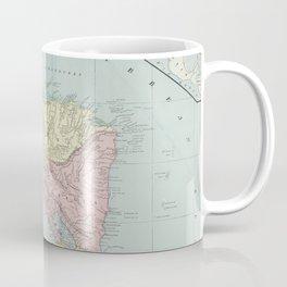 Vintage Map of Central America (1901) Coffee Mug