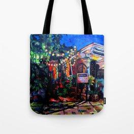 Nighttime Cafe Tote Bag