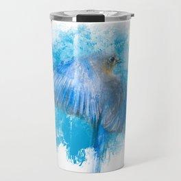 True Blue Travel Mug