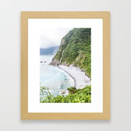 Qingshui Cliff I Framed Art Print