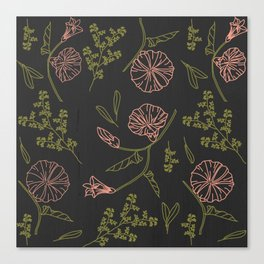 Florally Immoral Canvas Print