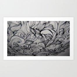 Flow - Ink Art Print