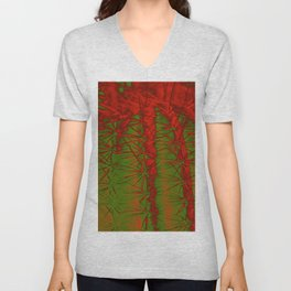 Cacti Abstract II Unisex V-Neck