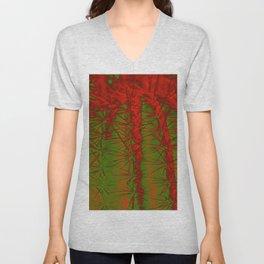 Cacti Abstract II Unisex V-Neck