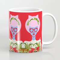 fern Mugs featuring Fern  by The Pairabirds