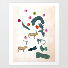 TIS THE SEASON Art Print