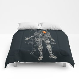 Travel With Me Comforters