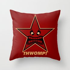 Obey Thwomp! Throw Pillow