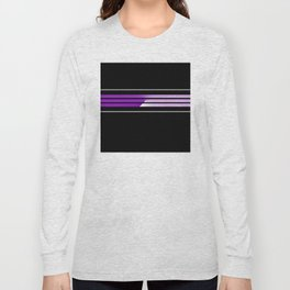 Team Colors 5...Purple Long Sleeve T-shirt