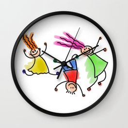 I am still a child Wall Clock