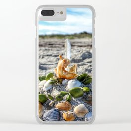 Sunny Castle Clear iPhone Case