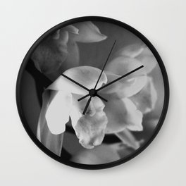 That Midas Touch - BW Wall Clock
