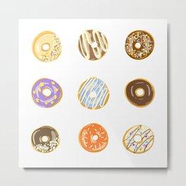 Donut set Metal Print