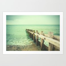 Into the Sea Art Print